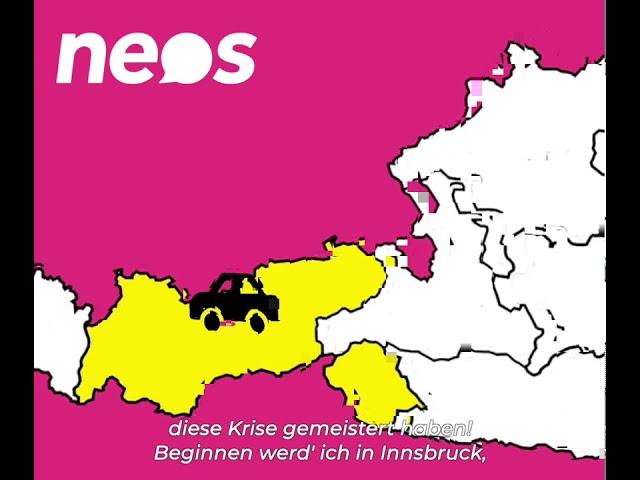 NEOS Tirol Sommertour - #NeueZuversicht - Trailer